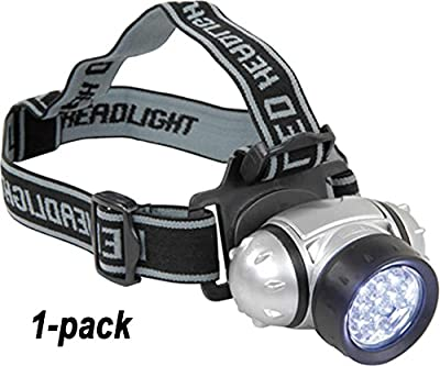 LED HeadBeam - 7 LED Headlamp - Hands-Free Pivoting LED Headband Light. Rugged. Comfortable. Waterproof. Dependable. 100% Guaranteed if you purchase HeadBeam Sold by High Energy Enterprises.* *headlamps offered here by other sellers are cheap knock-offs a