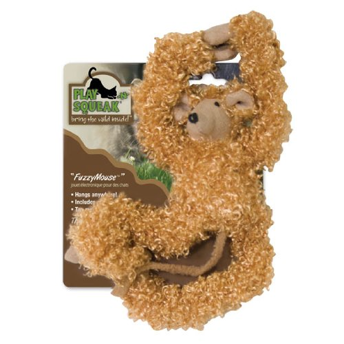 Our Pets CT-10168 Play-N-Squeak Fuzzy Mouse Cat Toy
