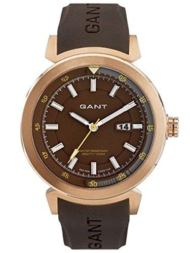 GANT - Orologio da uomo BRADLEY IPR, in acciaio INOX con cinturino di colore marrone, W70356, nuovo
