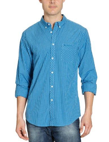 Ben Sherman MA00003 Men's Casual Shirt Washed Altanic Large