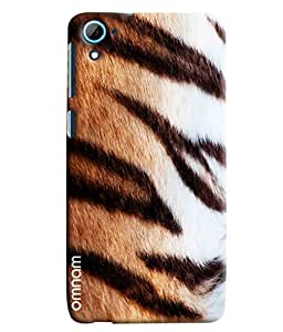 Omnam Cheetah Pattern Printed Designer Back Cover Case For HTC Desire 826