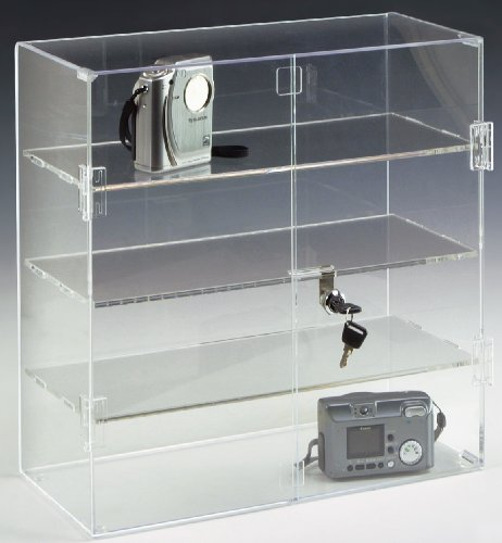 Retail Countertop Display Case, 16-1/2
