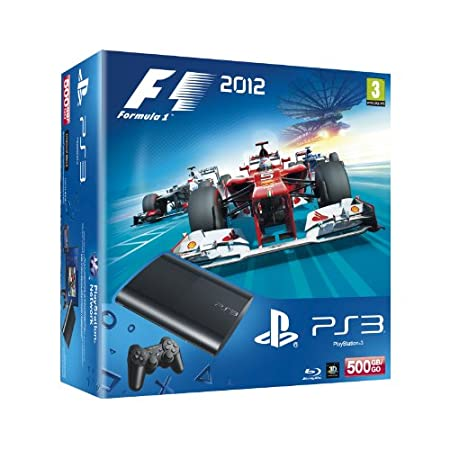 PlayStation 3 Consola 500 GB + F1