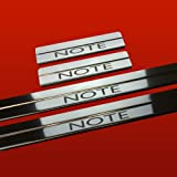NISSAN NOTE MK1 NOTE DOOR SILLS KICK PLATE COVER STAINLESS STEEL 304 MIRROR FINISH 410196 NOTE