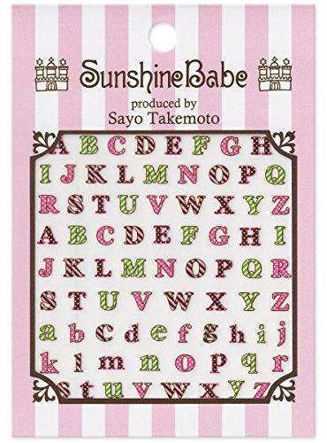 SunshineBabe ネイルシール アルファベット2
