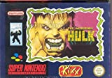 echange, troc The incredible hulk Kixx - Super Nintendo - PAL
