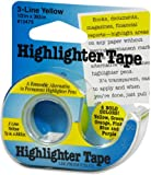 """Lee Products Highlighter Tape 1/2""""X393""""-Yellow"""