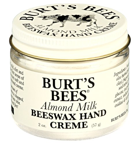 Burt's Bees 小蜜蜂纯天然杏仁牛奶蜂蜡护手霜,56g*2罐图片