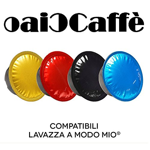CiaoCaffè 50 Lavazza A MODO MIO 100% Compatible Coffee Capsules Pods Made in Italy Fast Shipping.