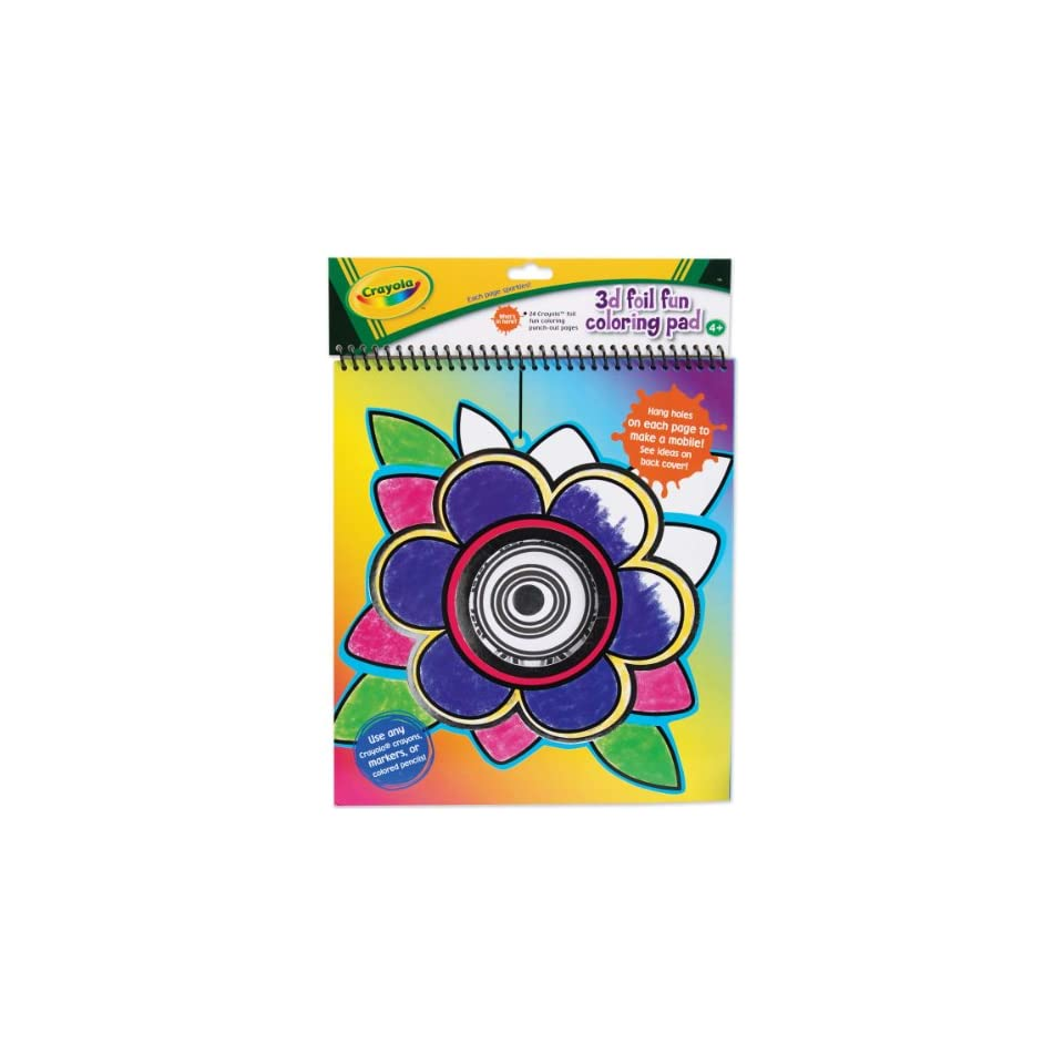 Crayola 3D Foil Fun Coloring Pad (53492) Toys   Games on PopScreen 0cdf3a39c78dc