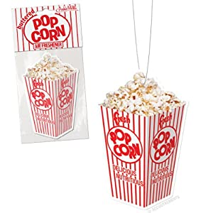 Buttered Popcorn Air Freshener by Accoutrements