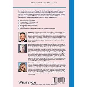 Hämatologie: Theorie und Praxis für medizinische Assistenzberufe