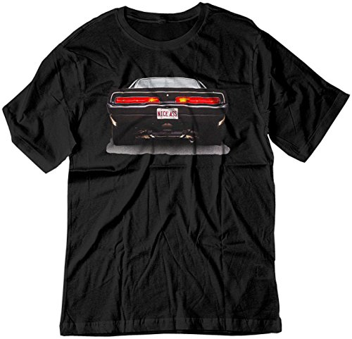 BSW Men's Nice Ass 1969 Dodge Charger V8 American Muscle Shirt LRG Black (Nice Dodge compare prices)