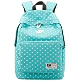 Sealike lightweight casual daypack backpack for college bookbag for women girls school bags blue