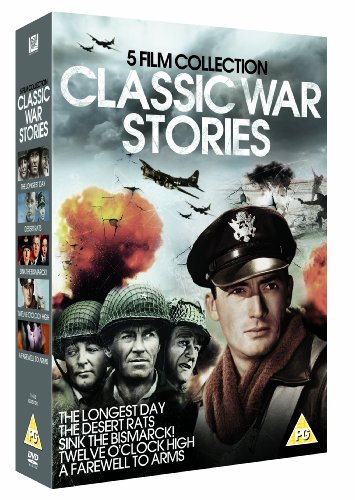Classic War Stories - 5 Film Collection [DVD] [1949]