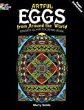 img - for Artful Eggs from Around the World Stained Glass Coloring Book (Dover Design Stained Glass Coloring Book) book / textbook / text book