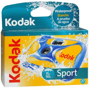 Limited time offer: KODAK CAMERA SPORT WATER 27 EX 1 per pack by PTL ENTERPRISES *** Whiles Supplies Last