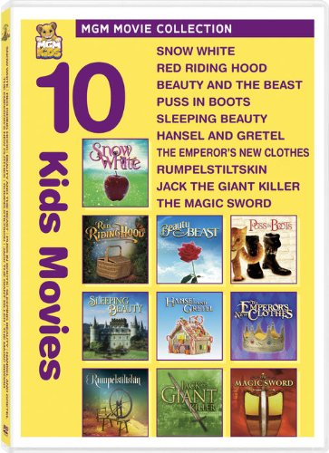 Kids 10-Pack (Snow White / Red Riding Hood / Beauty and the Beast / Puss in Boots / Sleeping Beauty / Hansel and Gretel / The Emperor's New Clothes / Rumpelstiltskin / Jack the Giant Killer / The Magic Sword)