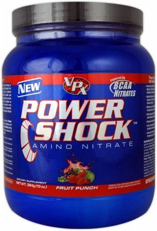Vpx Power Shock Fruit Punch -- 4.58 Oz