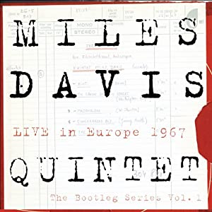 Miles Davis - Live In Europe 1967 cover 