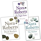 Nora Roberts Nora Roberts Sign of Seven Trilogy 3 Books Collection Pack Set (Blood Brothers, The Hollow, The Pagan Stone)