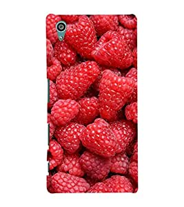 printtech Strawberry Back Case Cover for Sony Xperia Z5::Sony Xperia Z5 Dual::Sony Xperia Z5 Premium