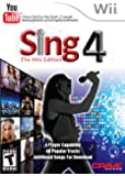 Sing4: The Hits Edition with Microphone - Nintendo Wii