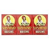Sun-Maid California Raisins 6 x 42.5g