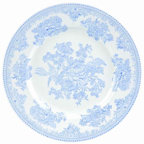 Burleigh azul acabado en queso plato asiático de mi Jung Lee