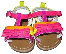 Infant Toddler Color Straps Sandal - 3-6 Months [3010]