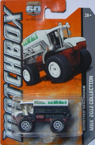 Matchbox Mbx 2012 Collection Sowing Machine - 1