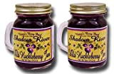 Shadow River Wild Huckleberry Gourmet Jam, 5oz Shaker Jar (Pack of 2)