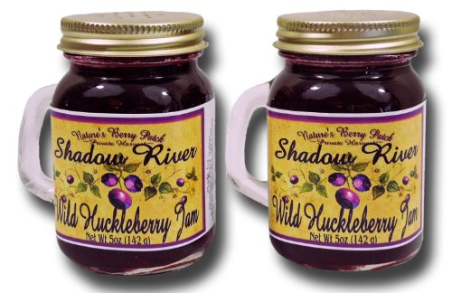 Shadow River Wild Huckleberry Gourmet Jam, 5oz