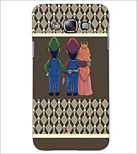 PrintDhaba Betrayed Love D-4804 Back Case Cover for SAMSUNG GALAXY E7 (Multi-Coloured)