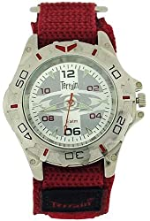 Terrain Bordeaux Boys Velcro Strap Sports Watch TV-1304G