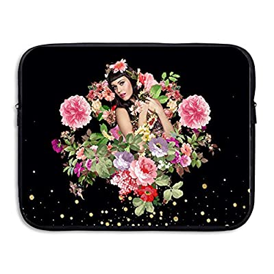 Katy Perry And Flower Laptop Computer Backpack Double-sided