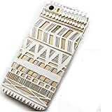 5 Case,iPhone 5s Case -LUOLNH Henna Itzli Mayan Aztec tribal native american indian ethnic Clear Pattern Premium ULTRA SLIM Hard Cover for iPhone 5 5S