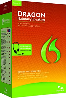 Dragon NaturallySpeaking Home 12, French