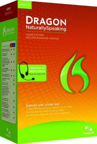 Dragon NaturallySpeaking Home 12.0, French