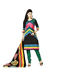 Siddhi Unstitched Cotton Printed Salwar Suit Dupatta Material ( 5222 )