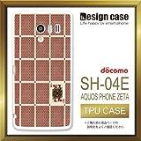 SH-04Eケース SH-04Eカバー SH-04E専用ケース TPUケース/AQUOS PHONE EX SH-04E /1300_トランプクイーン(シンプル_ユニーク)