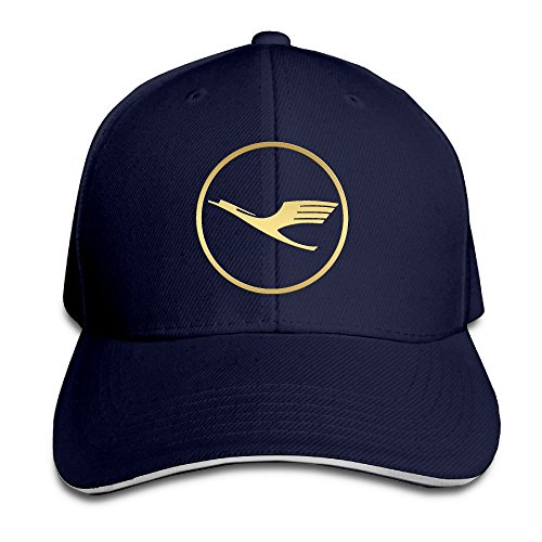 golden-lufthansa-logo-unisex-sandwich-hat-navy