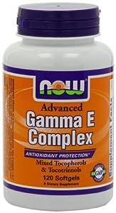 Now Foods Advanced Gamma E Complex, Soft-gels, 120-Count
