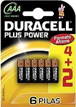 Comprar Duracell - Pila AAA (blister 4 unidades + 2 de regalo)