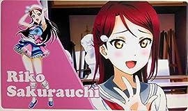 ラブライブ! サンシャイン LoveLive aqours カードゲーム プレイマット デスクマット 桜内梨子
