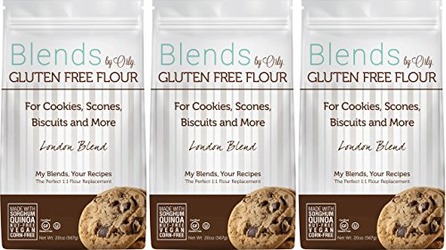 Custom Blended Gluten Free Cookie Flour - Blends By Orly - London Blend - Gluten-free Baking Flour for Cookies, Scones, and Biscuits 60ozs... (Sprouted Grain Bread Cookbook compare prices)