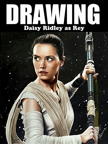 Clip: Drawing Daisy Ridley as Rey