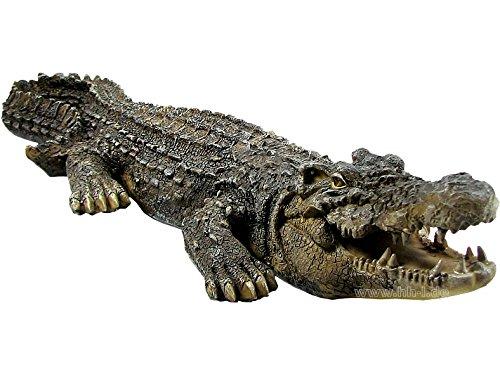 Krokodil aus Polystone riesige 46 cm groß Der Hammer