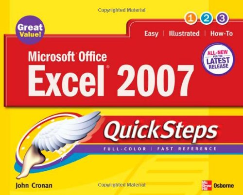 Microsoft Office Excel 2007 QuickSteps