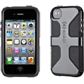 Speck Products CandyShell Grip Case for iPhone 4/4S - Black (New - Non Retail Packaging)